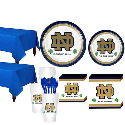 Notre Dame Fighting Irish Party Kit for 40 Guests Image #1