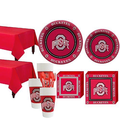 Ohio State Buckeyes Party Kit for 40 Guests Image #1