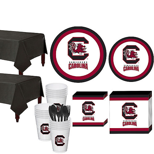 South Carolina Gamecocks Party Kit for 40 Guests Image #1
