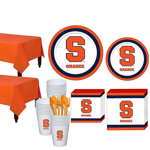 Syracuse Orange Party Kit for 40 Guests Image #1