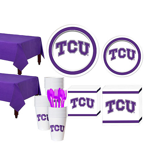 TCU Horned Frogs Party Kit for 40 Guests Image #1