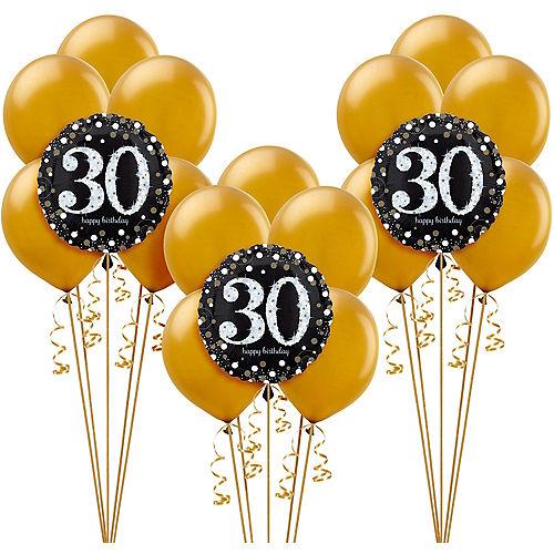 Sparkling Celebration 30th Birthday Balloon Kit Image #1