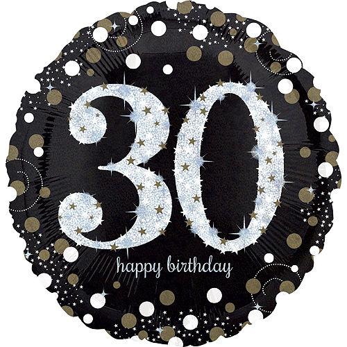 Sparkling Celebration 30th Birthday Balloon Kit Image #2