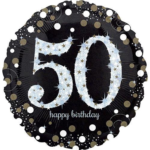 Sparkling Celebration 50th Birthday Balloon Kit Image #2
