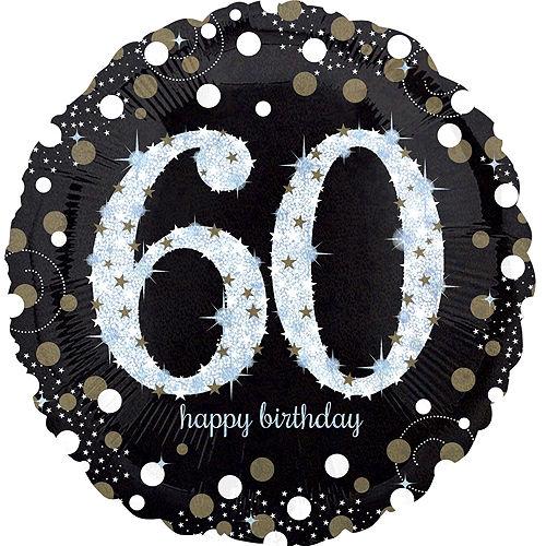 Sparkling Celebration 60th Birthday Balloon Kit Image #2