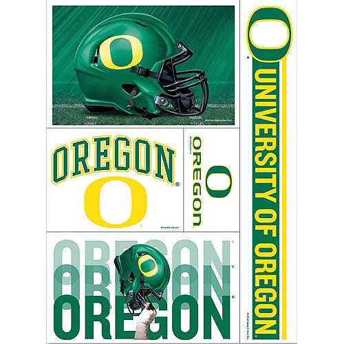 Oregon Ducks Decals 5ct Image #1