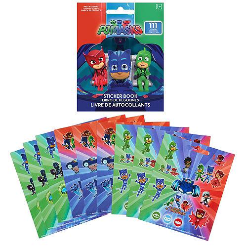 PJ Masks Sticker Book 9 Sheets Image #1