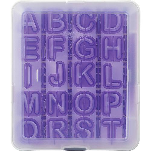 Wilton Alphabet & Number Fondant Cut-Outs Set 42pc Image #2