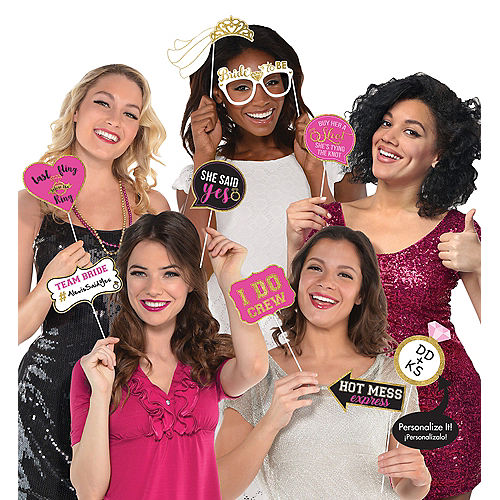 Bachelorette Party Photo Booth Props 13ct Image #1