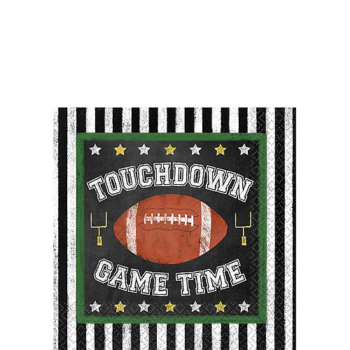 Football Game Time Beverage Napkins 36ct Image #1