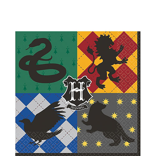 Harry Potter Lunch Napkins 16ct Image #1