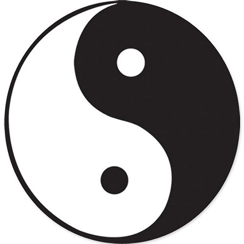 Nav Item for Yin-Yang Symbol Cutout Image #1