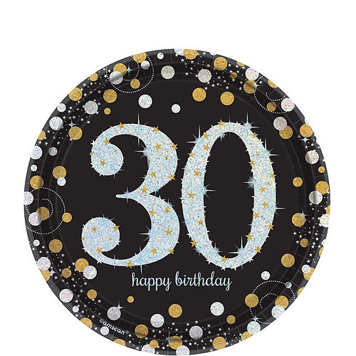 Sparkling Celebration 30th Birthday Party Kit for 16 Guests Image #2