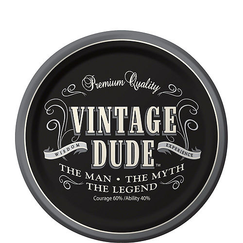 Vintage Dude Party Kit for 16 Guests Image #2