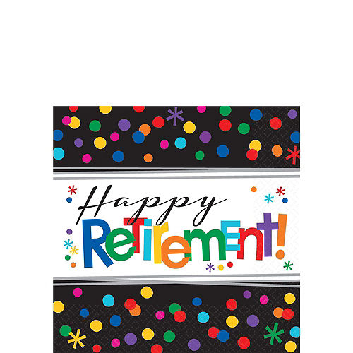 Happy Retirement Celebration Party Kit for 16 Guests Image #4