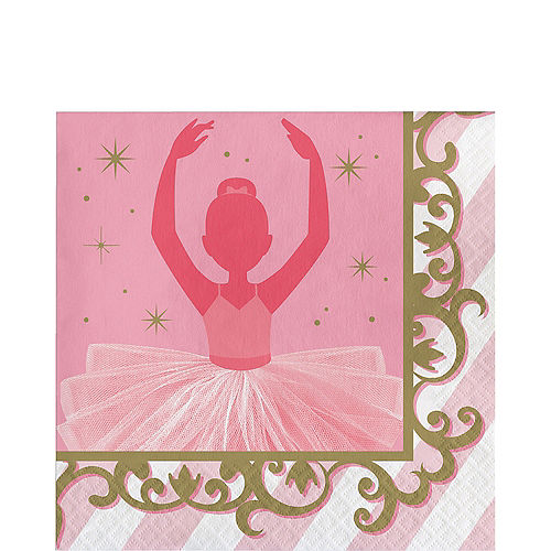 Ballerina Lunch Napkins 16ct Image #1