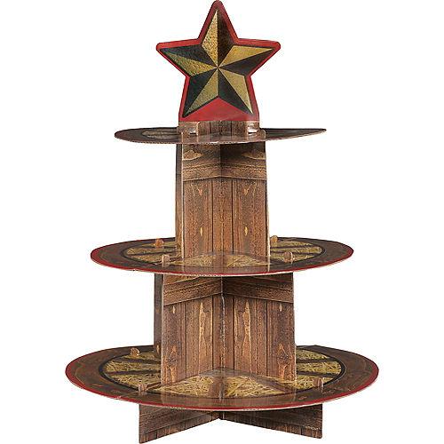 Yeehaw Western Cupcake Stand Image #1