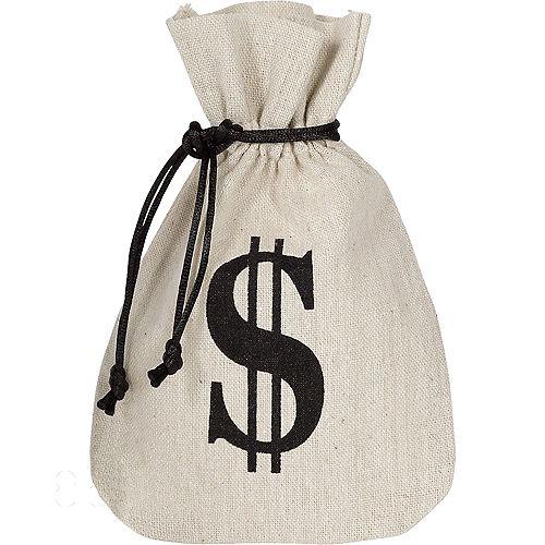 Burlap Money Bags Favor Bags 8ct Image #1