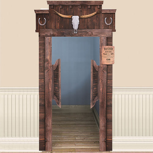 Nav Item for Yeehaw Western Saloon Door Decoration Image #1