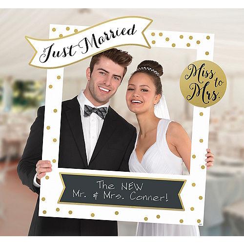 Giant Customizable Wedding Photo Frame Kit Image #1