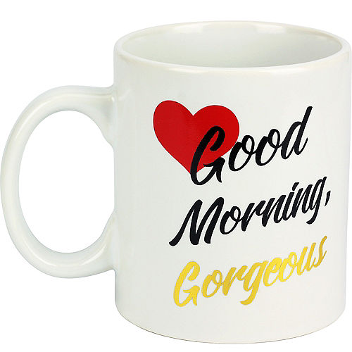 Good Morning Gorgeous Coffee Mug Image #1