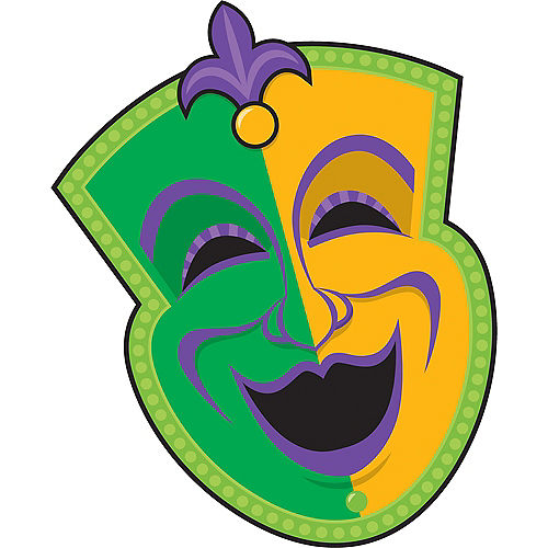 Comedy Mask Cutout Image #1
