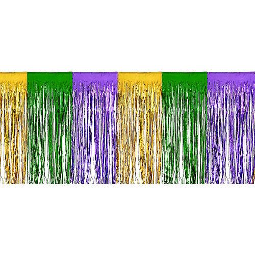 Mardi Gras Fringe Bunting Image #1