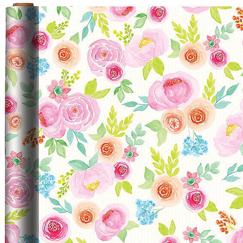 Floral Gift Wrap Image #1