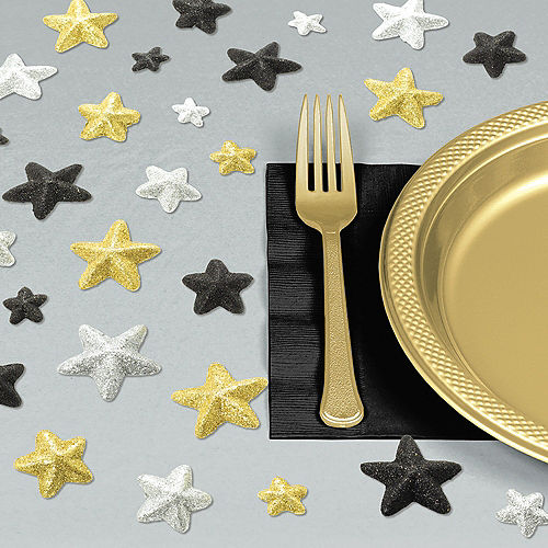 Glitter Star Table Scatter 32ct Image #1