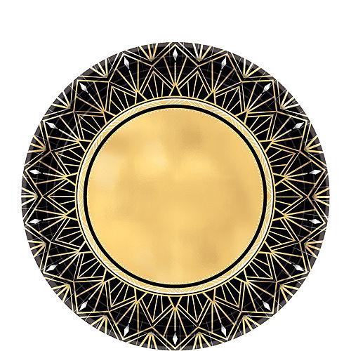 Metallic Hollywood Dessert Plates 8ct Image #1