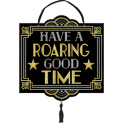 Glitter Hollywood Roaring Good Time Sign Image #1