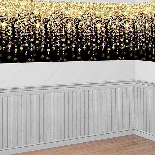 Gold Cascading Lights Room Roll Image #1