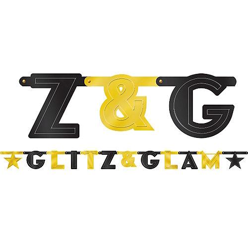 Glitz & Glam Hollywood Letter Banner Image #1