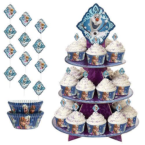 Frozen Cupcake Kit for 24 Image #1