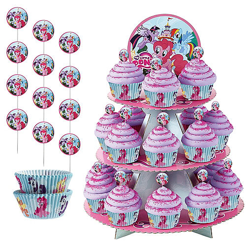 My Little Pony Cupcake Kit for 24 Image #1
