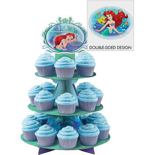 Little Mermaid Cupcake Kit for 24 Image #3