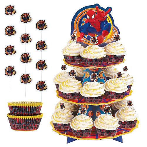 Spider-Man Cupcake Kit for 24 Image #1