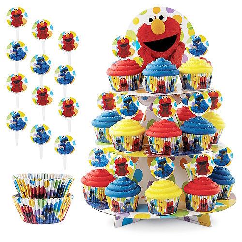 Sesame Street Cupcake Kit for 24 Image #1