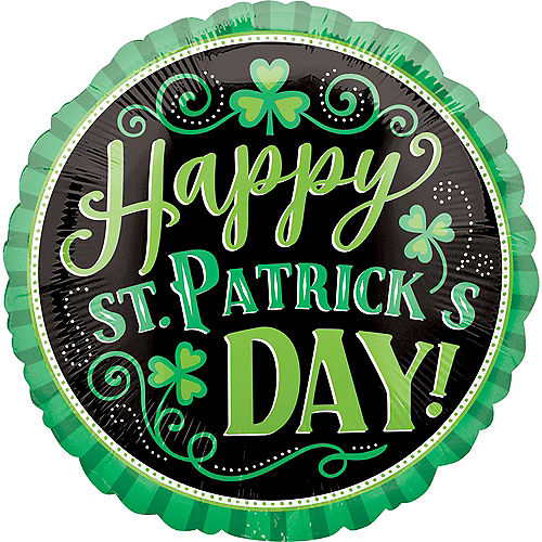 Happy St. Patrick's Day Balloon, 18in Image #1