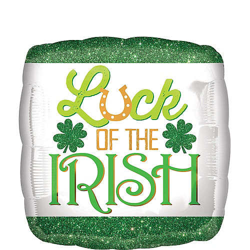 Luck of the Irish Balloon, 18in Image #1
