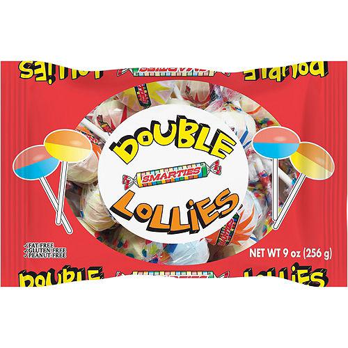 Smarties Double Lollies Lollipops 32ct Image #1