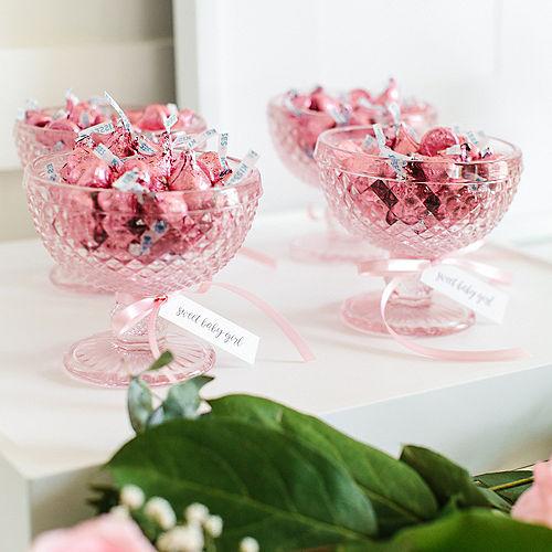 Pink Milk Chocolate Hershey's Kisses 410ct Image #3