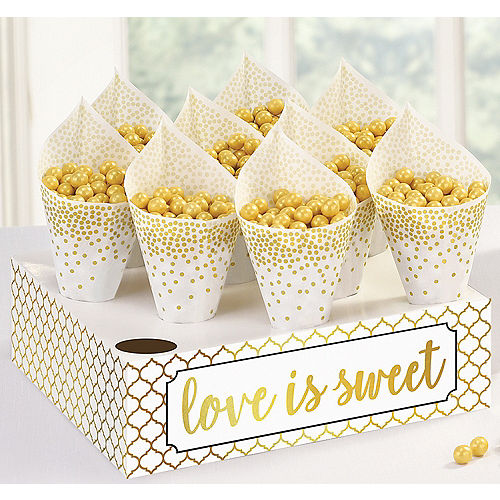 Love Is Sweet Snack Cones Kit 40ct Image #1