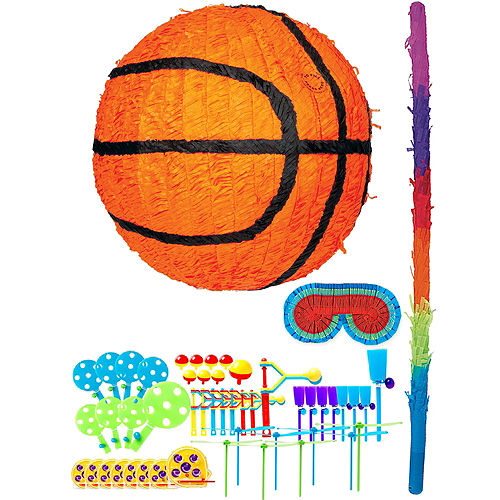 Nav Item for Basketball Pinata Kit with Favors Image #1