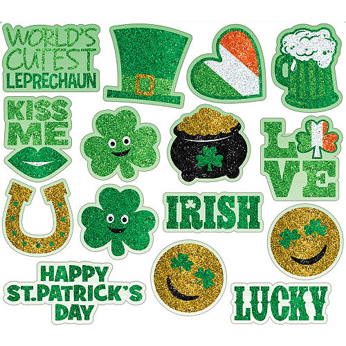 St. Patrick's Day Body Jewelry 15ct Image #1