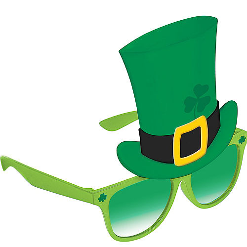 Leprechaun Hat St. Patrick's Day Sunglasses Image #1