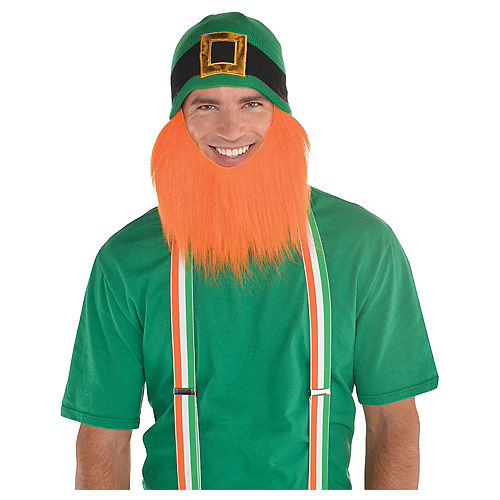 Leprechaun Beanie with Beard Image #1