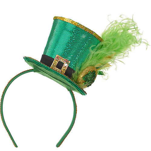 Leprechaun Top Hat Headband Image #1