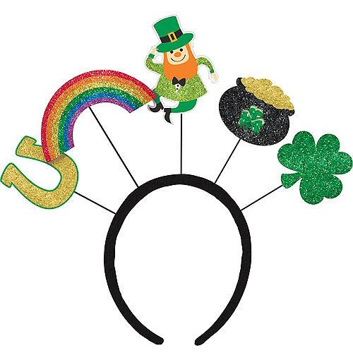 Glitter St. Patrick's Day Head Bopper Image #1