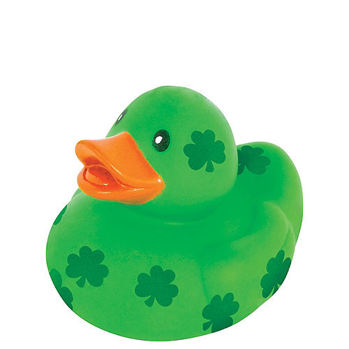 St. Patrick's Day Rubber Duck Image #1